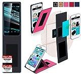 reboon Hülle für Vodafone Smart Platinum 7 Tasche Cover Case Bumper | Pink | Testsieger
