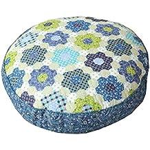 "Thicken Round Floor Pillow Cushion Japanese Style Futon Seat Cushion 21.6"",A10"