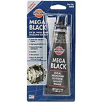 Mega Tube Noir 650RTV silicone joint d'étanchéité machine de vidange d'huile Joint d'étanchéité 85g
