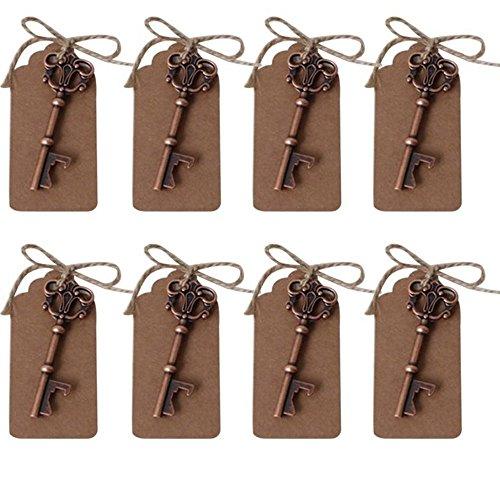Abrebotellas AmaJOY forma llave tarjeta hilo cobre
