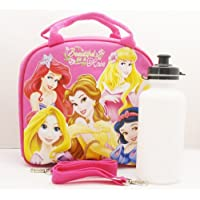 Disney Princess Lunch Bag with a Water Bottle - Hot Pink by N/A by Unknown preisvergleich bei kinderzimmerdekopreise.eu