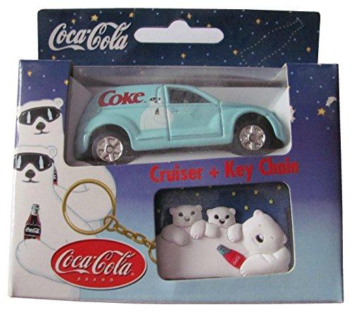 Coca Cola - Cruiser & Key Chain - Pkw & Schlüsselanhänger - Daimler Crysler - Panel Cruiser - US Pkw