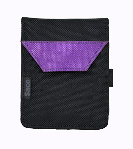 Saco Plug and play External Hard Disk Hard Case Pouch Cover Bag for Transcend StoreJet 25A3 2.5 inch 1 TB External Hard Disk - Purple  available at amazon for Rs.180