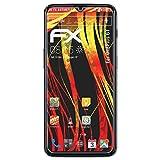 atFolix Schutzfolie kompatibel mit OnePlus 6T Bildschirmschutzfolie, HD-Entspiegelung FX Folie (3X)