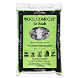2 x Bags of Dalefoot fine Wool Seed Compost peat Free: 12 Litre