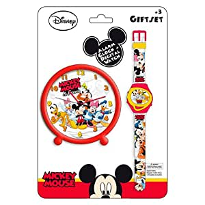 Reveil montre mickey disney decoration chambre enfant - Decoration mickey chambre ...