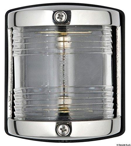 Osculati 11.414.03 - Utility 85 Navigationslicht VA-Stahl/Buglicht weiß