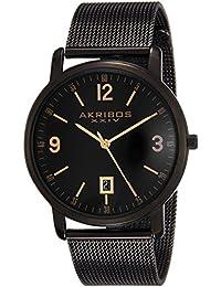 Akribos XXIV Analog Black Dial Men's Watch - AK858BK