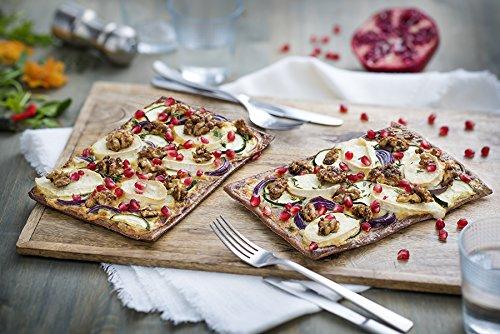 Lizza Low-Carb Pizza-Teig aus Lein-Samen und Chia-Samen (8 x 180g) - 4