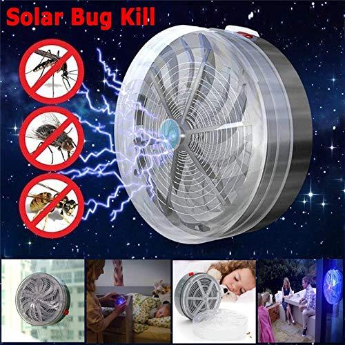 Dkings High Efficiency Durable Solar Buzz Kill Zapper Killer Luce UV Fly Insect Bug Zanzara Lampada casa kitche