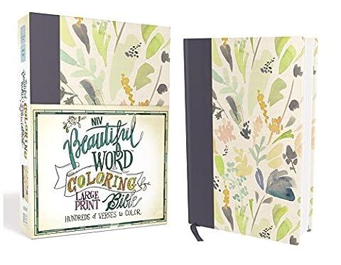 Holy Bible: New International Version, Beautiful Word Coloring Bible, Navy