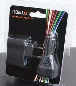 MusicMan MA / Mini Ladegerät USB/AC Lade-Set Travel Set