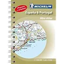 Spain & Portugal - Mini Atlas: Mini Atlas Spiral (Michelin Road Atlases)