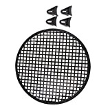 #4: MagiDeal 12'' Car Speaker Mesh Sub Woofer Subwoofer Grill Dust Cover w/ Mounting Clips