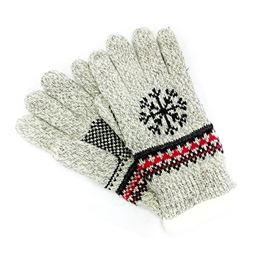 Guanti caldi maglia - iParaAiluRy unisex più elastica e flessibile