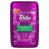 Tilda Wholegrain Basmati Rice, 2er Pack (2x1kg)