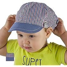 Gorro infantil para niños (100% algodón, primavera, verano, visera, de 9 a18meses, 2 a3años)