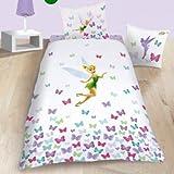 CTI Tinkerbell und die Butterfly', 100% Baumwolle, Bettwäsche