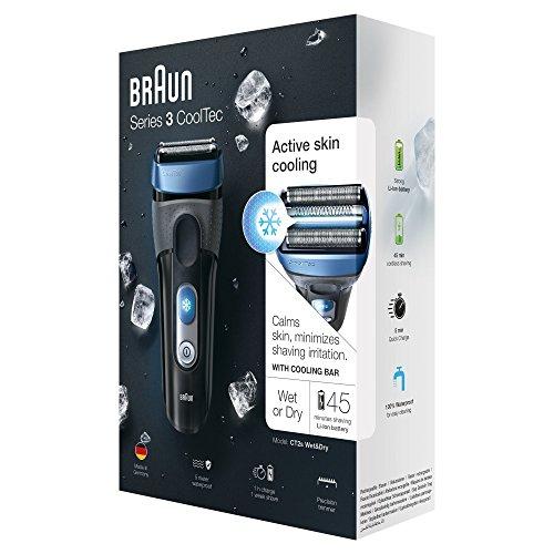 Afeitadora Braun CoolTec CT2s