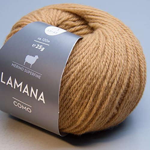 Lamana Como 030 karamel 25g Wolle -
