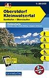 Outdoorkarte 01. Oberstdorf - Kleinwalsertal 1 : 35.000: Sonthofen - Oberstaufen (Kümmerly+Frey Outdoorkarten Deutschland)