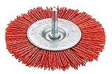 CONNEX COM217075 75cm Disk Brush - Nylon Red