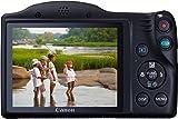 Canon PowerShot SX410 IS Digitalkamera (20 Megapixel, 40-fach optischer Zoom, 7,6 cm (3,0 Zoll) Display, HDMI Mini, USB 2.0) schwarz - 7