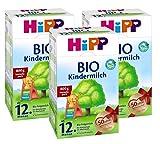 Hipp Bio Kindermilch - ab dem 12. Monat, 3er Pack (3 x 800g)