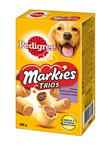 Artikelbild: Pedigree Markies Trio's Hundesnacks, 12 er Pack (12 x 500 g)