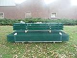 BBT@ / 10m Zaunanlage Gartenzaun Zaun 1830mm Doppelstabmatten Verzinkt + Pulverbeschichtet