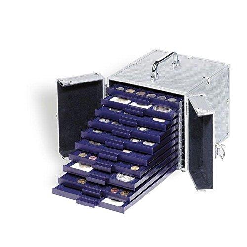 Preisvergleich Produktbild Leuchtturm (315842) Alu-Koffer CARGO S 10 für 10 Münzenboxen SMART