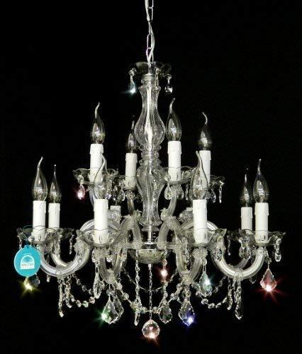 Top lampadari in cristallo 12bracci Ø60CM fabbricato con Cristallo SPECTRA di SWAROVSKI