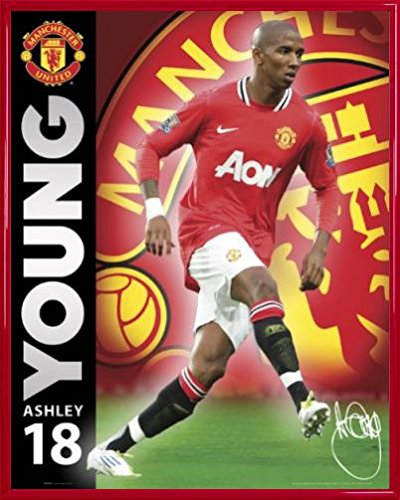 football-mini-poster-et-cadre-plastique-manchester-united-young-11-12-50-x-40cm