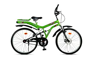 Hercules Atom ZX Aluminum Bike, Men's 26-inch (Electric Green/Black)