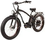 Tucano Bikes Monster 26. Bicicleta eléctrica 26' Motor: 1.000W-48V Suspensión Delantera Frenos Hidráulicos Velocidad máxima: 42 Km/h Batería: 48V 12Ah (Negro)
