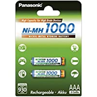 Batterie micro Sanyo HHR-4EPT AAA 1000mAh (pack a 2 unités), 1,2V, NiMH