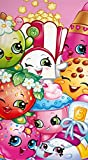 Best Las almohadas Shopkins - cangnan Girls Shopkins Trolley Beach Bath Cotton Towel Review