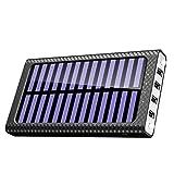 Power Bank 24000mAh KEDRON Caricabatterie Portatile Caricatore Wireless con Display LCD Digitale e 3 Porte USB & 2 Porte di Entrata Batteria per Galaxy S8/S8+/iPhone 8+/X e per tutti I dispositivi compatibili Qi e altri dispositivi USB