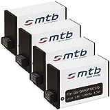 4x Batteria per Garmin Virb 360 Action Cam [1100 mAh | 3.8V | Li-Ion]