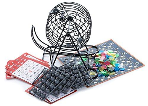 SPINMASTER 6033152Deluxe Bingo Käfig und Bälle (Cage-ball)