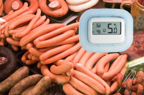 TFA Dostmann digitales Kühl-Gefrierschrank-Thermometer - 4