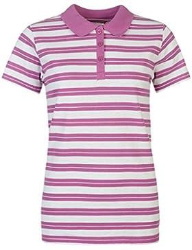 Full Circle Mujer A Rayas Polo Camisa Señoras Camiseta Ropa Vestir Casual