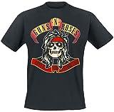 Guns N´Roses - Bandana Skull T-Shirt (S)