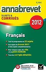 Annales Annabrevet 2012 Français corrigés