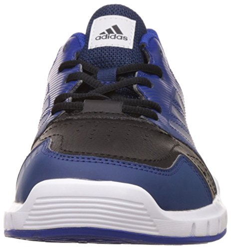 adidas Essential Star 3 M, Scarpe Indoor Multisport Uomo Nero ( Negbas/Plamet/Reauni)