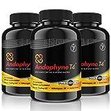 ANDOPHYNE-T4 | 90 Kapseln für 30 Tage Anwendung | THERMO-EFFEKT | Natürliche Unterstützung für die Gewichtsreduktion für Männer und Frauen, effektiv und schnell abnehmen | Premium Qualität