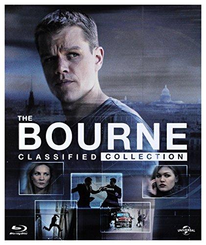 Bourne Kolekcja: Tożsamość Bourne'a / Krucjata Bourne'a / Ultimatum Bourne'a / Dziedzictwo Bourne'a / Jason Bourne [6xBlu-Ray] (Keine deutsche Version) (Blu-ray Ultimatum Das Bourne)