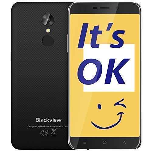 Blackview A10 Movil Libres(2018),5.0''HD Display de 16 GB ROM+2 GB RAM...