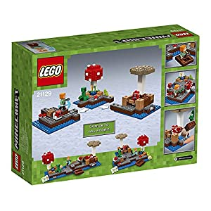 "Minecraft 21129 ""The Mushroom Island"" Building Set from LEGO"