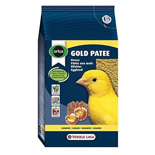 Orlux Gold Patee Eggfood Canary Bird Food 1kg-1kg -